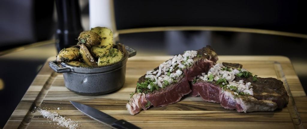 Restaurant Chez Franklin à Nantes (44) - Pièce du boucher